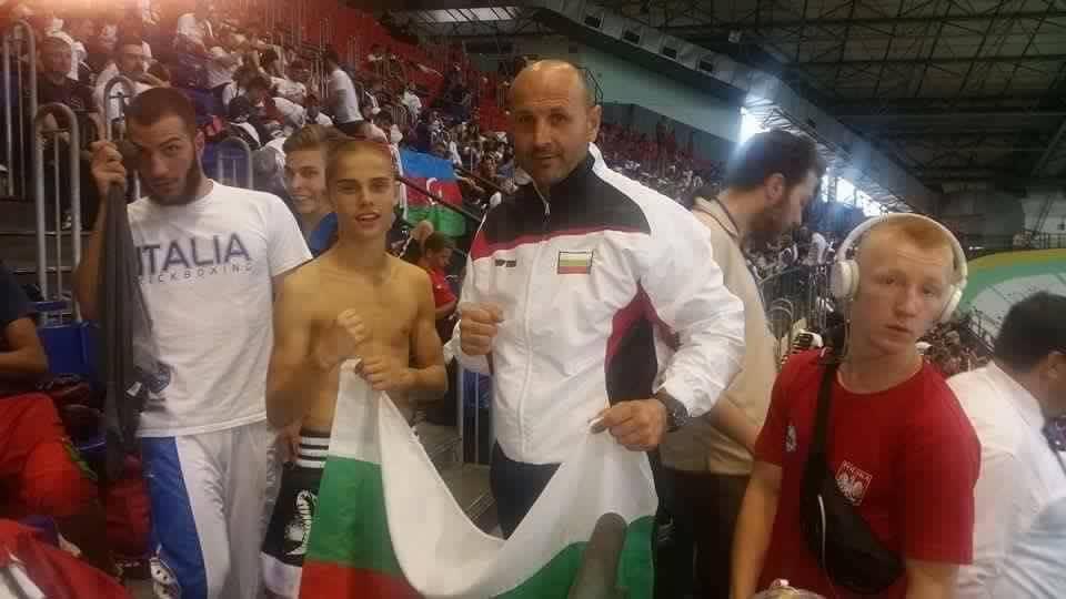 кикбокс състезатели кристиан йорданов